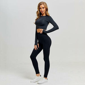 2 pieces seamless yoga set - Southern Rae's