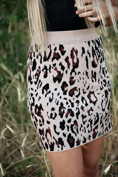 Sweater knit skirt - Southern Rae's