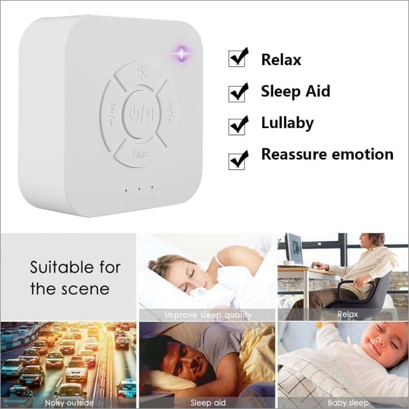 Sleep & Relaxation Sound Machine - allaboutmother.com - 1