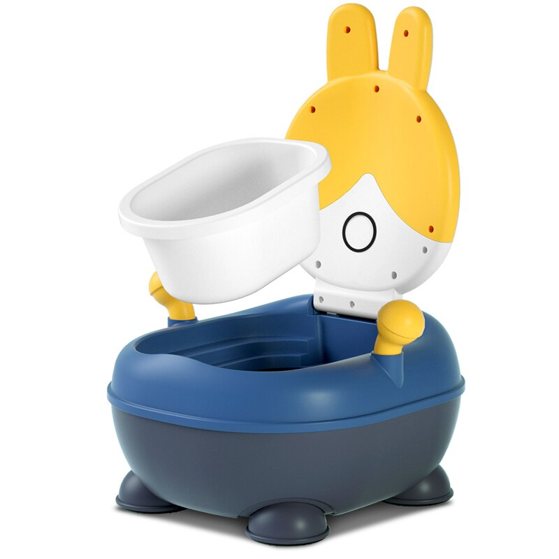 Potty training with Lid, PU or PVC Anti-Slip Cushion and Splash Guard