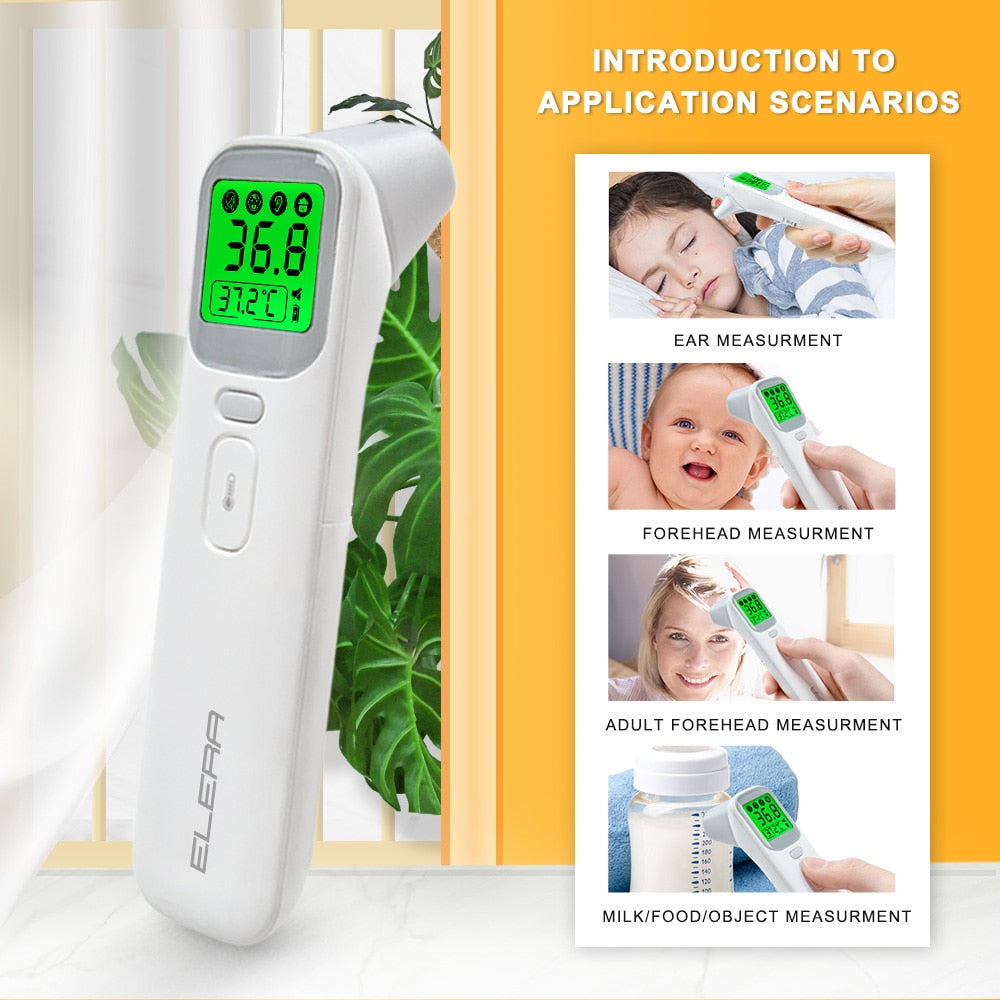 ELERA 20A - 4in1 Infrared Digital No-Contact Thermometer