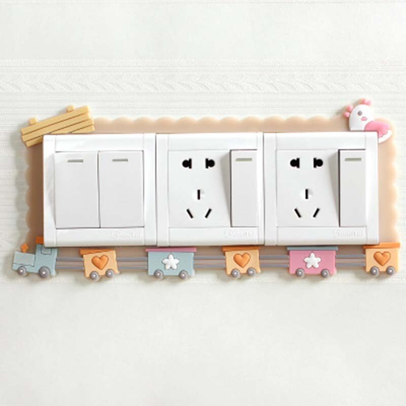 Cartoon Luminous Wall Switch Cover 1pc