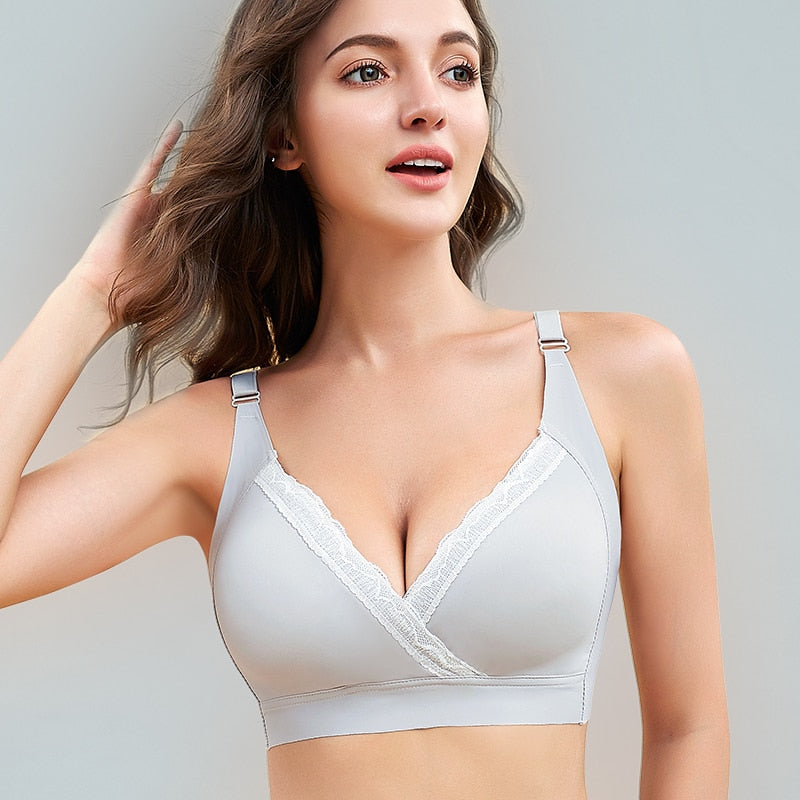 Breastfeeding Nursing Underwear Bra