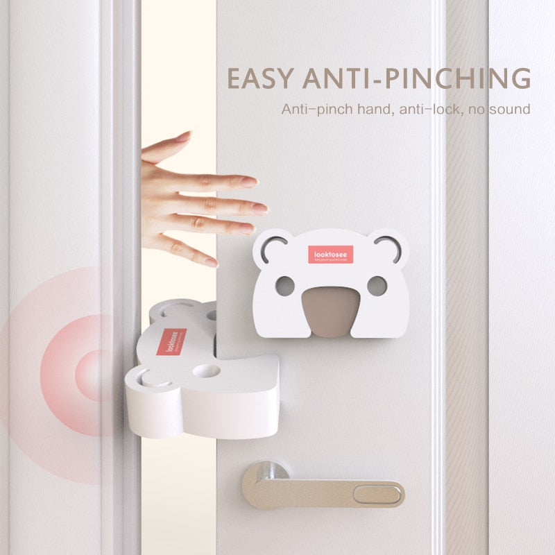 Safety Door Stopper 2pcs/set