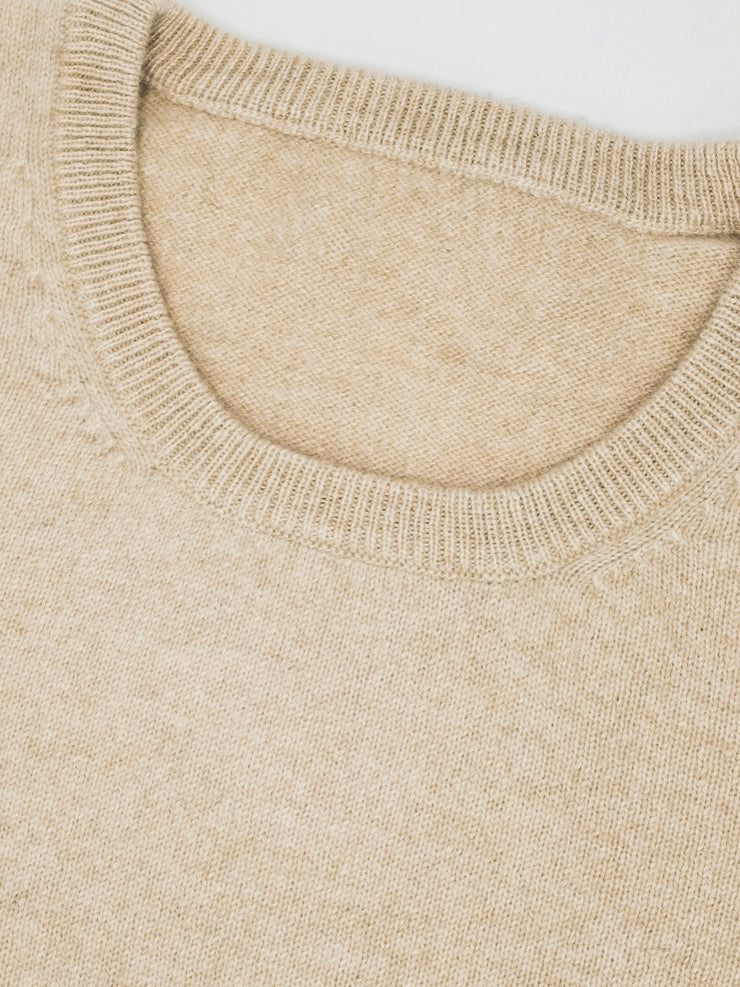 Fitted Round Neck Sweater