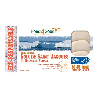 NOIX DE SAINT-JACQUES 300G MSC