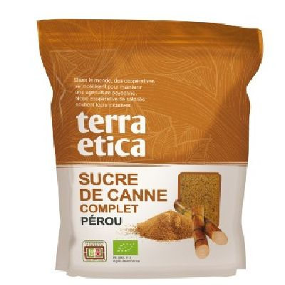 Sucres Canne Compl. Perou 500G