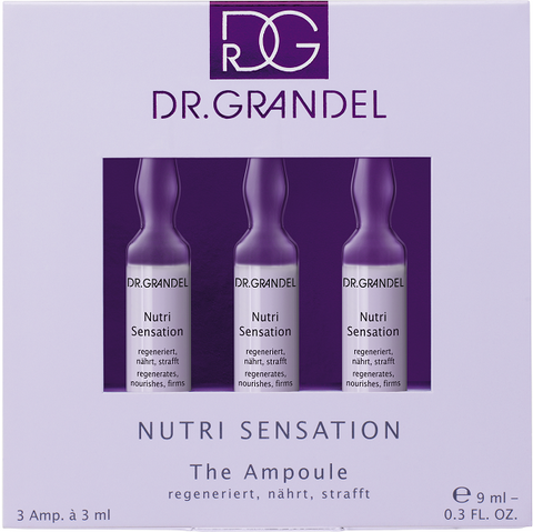 DR. GRANDEL Nutri Sensation The Ampoule 3 x 3 ml