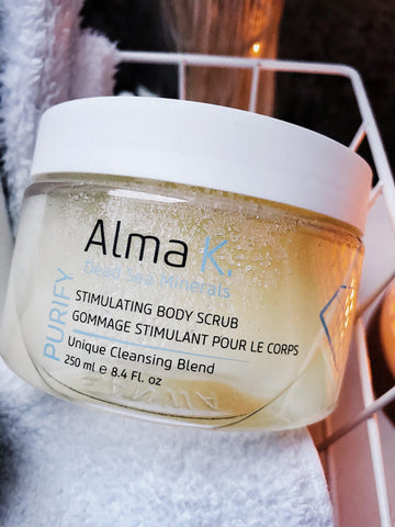 Alma K. Purify Stimulationg Body Scrub-RuheZeit