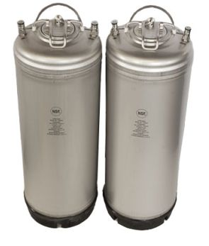 5 Gal AMCYL Ball Lock Keg - Strap - 2 pack