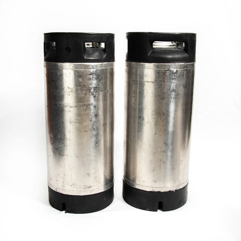 Refurbished Pin Lock 5 Gallon Cornelius Style Keg - 2 Pack
