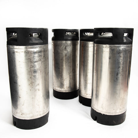 Refurbished Pin Lock Cornelius Style Keg - 4 Pack