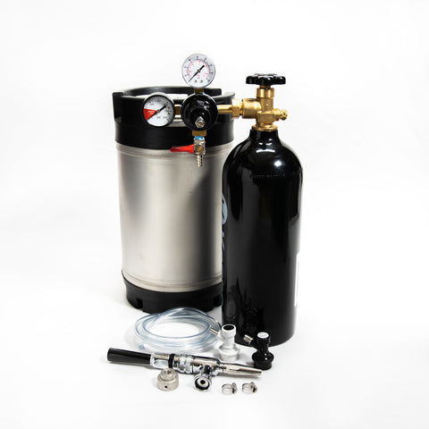 Cold Brew Coffee Nitrogen Keg Kit - 2.5 Gal