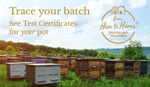 Trace your pot's journey with our Hive to Home promise