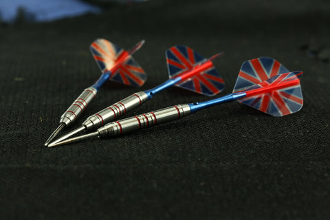 Union Jack 90% Tungsten Dart Set