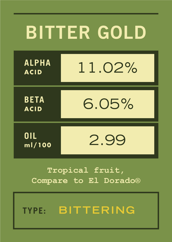 Bitter Gold (compare to El Dorado®) - 2020 [11lbs]