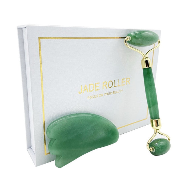 Jade Roller Facial Face Massage