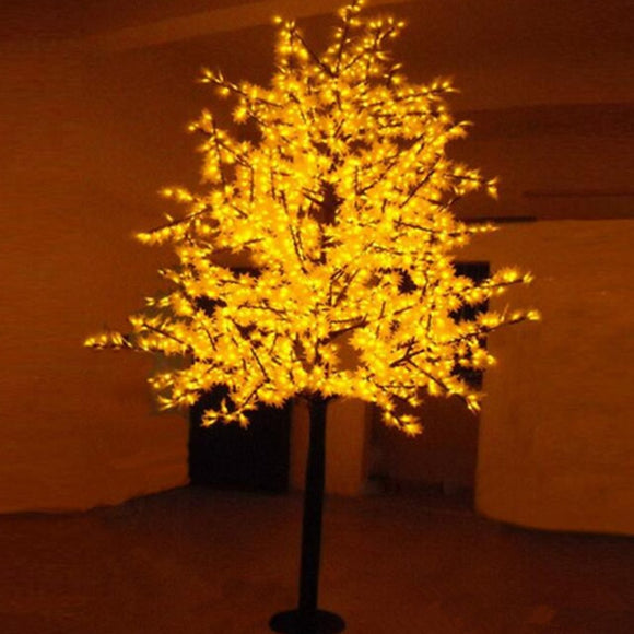 Free Shipping LED maple tree light,1.5M 636Leds Waterproof IP65 Led christmas tree light ,led holiday light AC110-240V