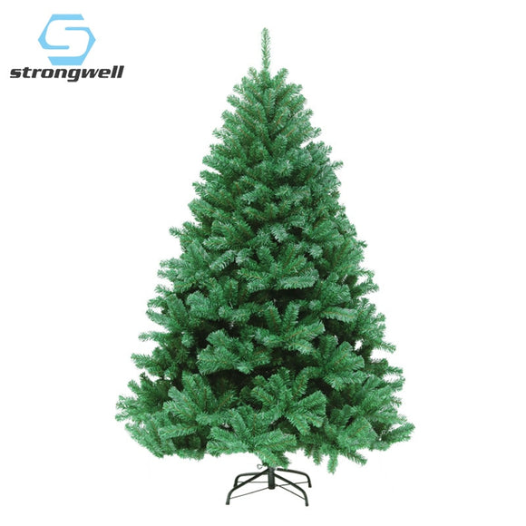 Strongwell 45/60/90/120CM Encryption Green Tree Mini Artificial Christmas Tree Decorations Christmas Decoration Home Decor