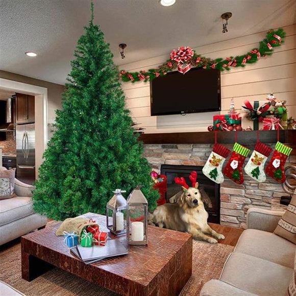 Artificial Christmas tree Plastic Christmas Decorations  Holder Base For Christmas Home Party Decoration Green Miniature Tree