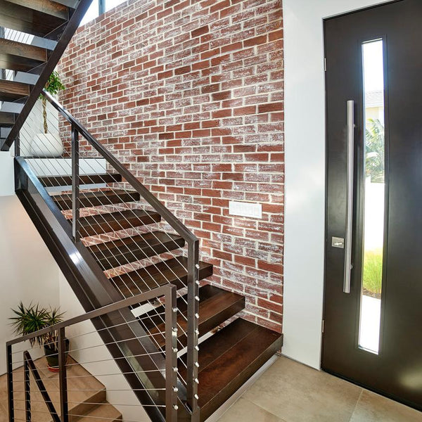 rustic brick wall panels