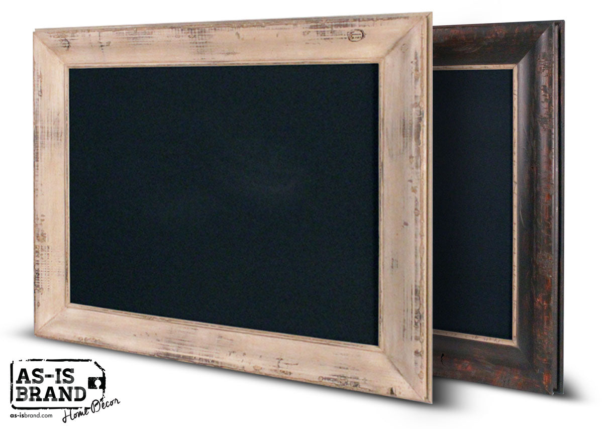 AS-IS BRAND Home Decor Real Wood Chalkboards