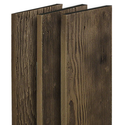 Faux barn wood wall panels