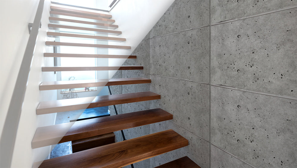 interior stair railing designs ideas and decors most.htm faux stone panels  feature walls and home d  cor     wall theory  faux stone panels  feature walls and