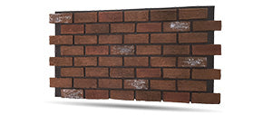 antique faux brick wall panels