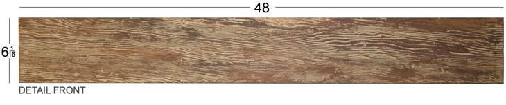 faux barn wood plank size