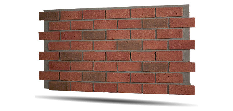 Classic Brick Wall panels are lightweight and easy to install