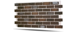 cellar brown faux brick wall panels