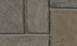 Castle Stone Faux Stone Panel in Grey Brown