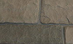 Europa Stone Faux Stone Panel in Grey Blend