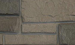 Europa Stone Faux Stone Panel in Grey Brown
