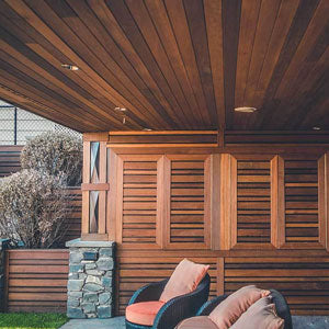 IPE exotic hard wood siding