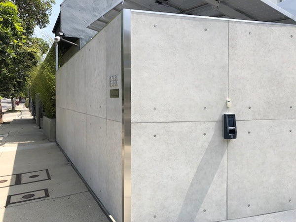 RealCast Concrete Panels on an outdoor wall