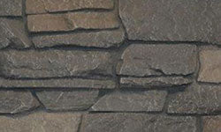 Ridge Stone Faux Stone Panel in Dark Brown