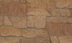 Ridge Stone Faux Stone Panel in Light Brown