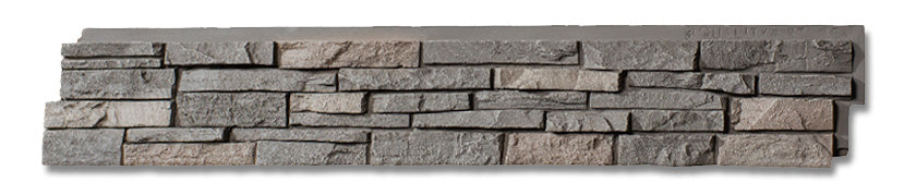 Stacked Stone Panel features