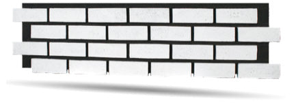 Authentic Faux Brick Panels in Black