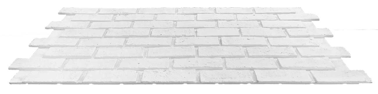 faux classic brick panel