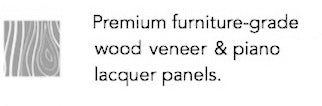 Premium furniture-grade lacquer