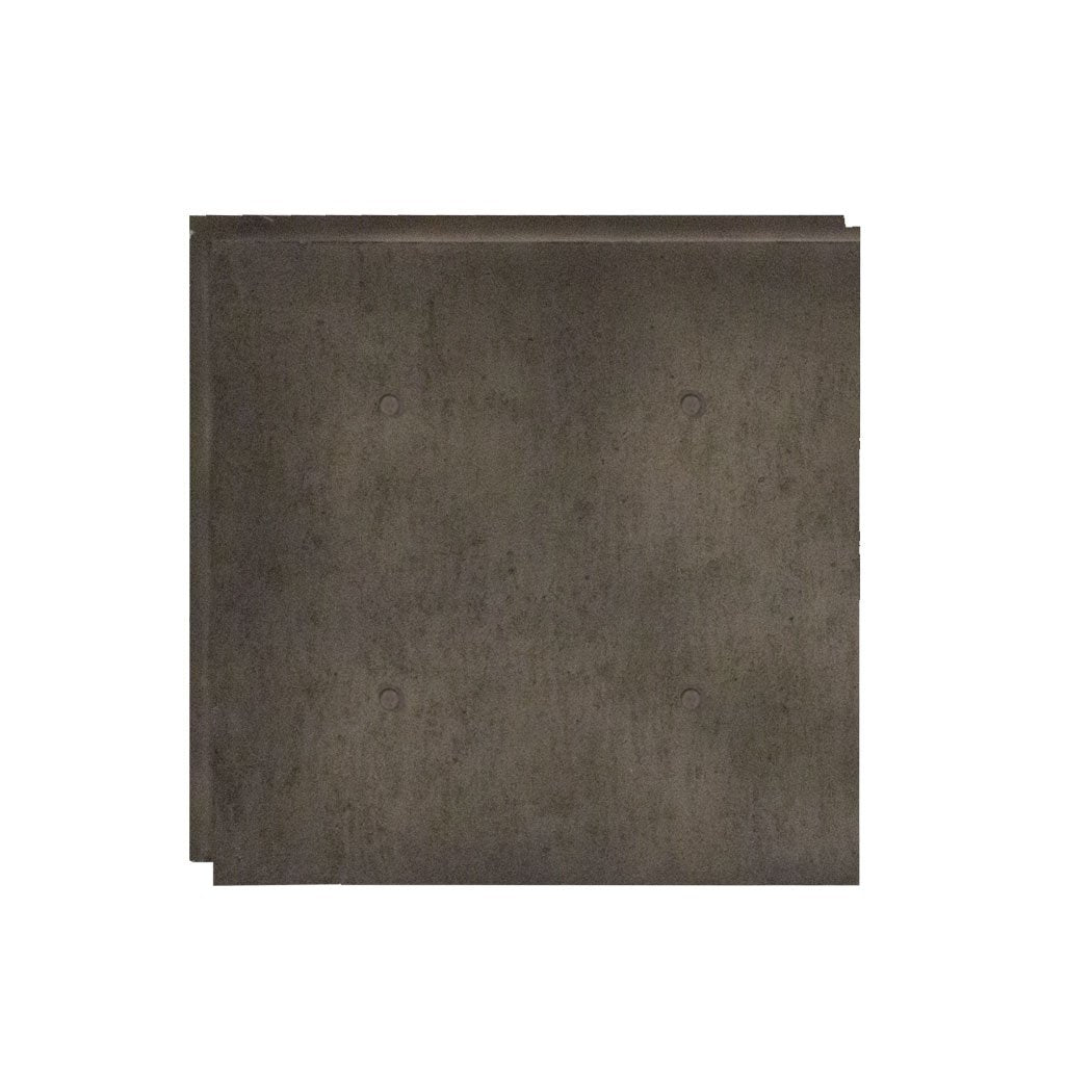 "URBAN CONCRETE - 48""X48"" PANEL - ONYX"