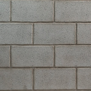 "CINDER BLOCK - 48""X48"" TRADITIONAL - WASHED GREY"