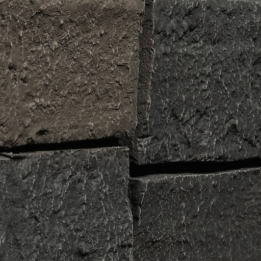 "LEDGE STONE - 6X48"" PANEL - BLACK"