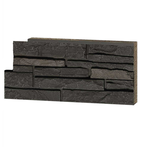 Stacked Stone - Dark Brown Sample