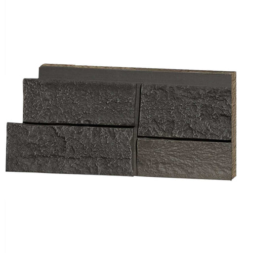 FAUX LEDGE STONE - DARK BROWN - SAMPLE