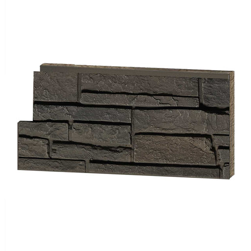 Stacked Stone Grey Brown Sample