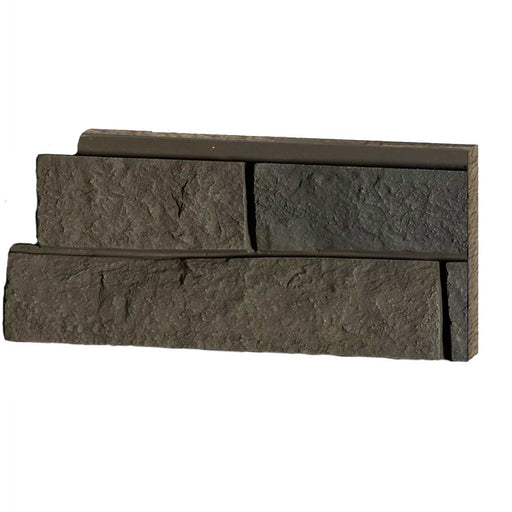 FAUX LEDGE STONE - GREY BROWN - SAMPLE